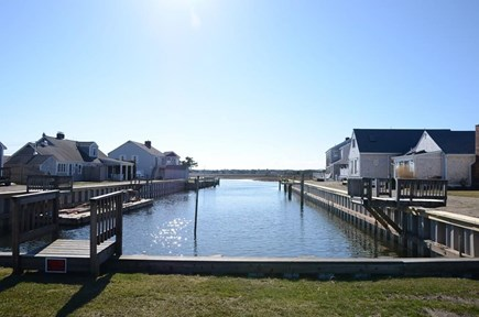 South Yarmouth Cape Cod vacation rental - See the water from the house.
