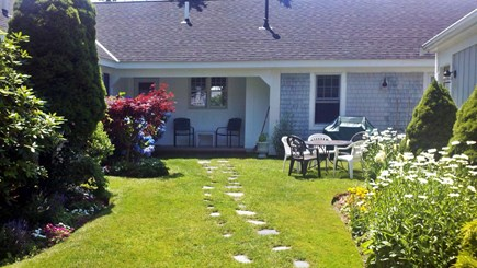 South Yarmouth Cape Cod vacation rental - Beautiful yard with plenty of seating.