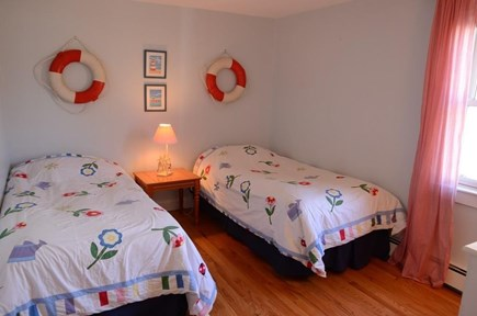 South Yarmouth Cape Cod vacation rental - Bedroom with two twin beds.