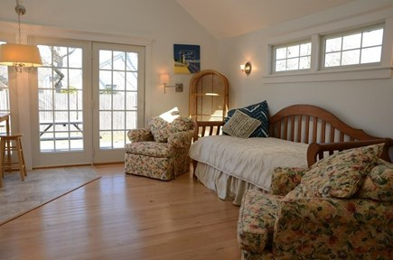 South Yarmouth Cape Cod vacation rental - Living room in separate living area.