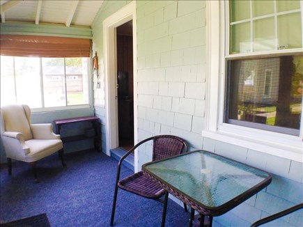 Dennis Port Cape Cod vacation rental - Enclosed porch