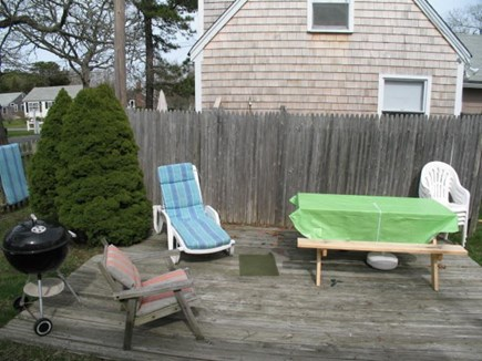 Dennis Port Cape Cod vacation rental - Deck