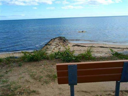 Dennis Cape Cod vacation rental - View of Sea St Beach adjoining property