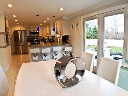 Brewster Cape Cod vacation rental - Dining area / kitchen