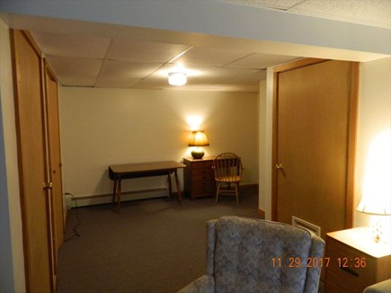 Brewster Cape Cod vacation rental - Walk out basement with office/play space