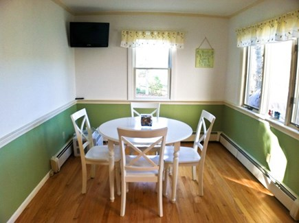 Harwich Cape Cod vacation rental - Breakfast nook