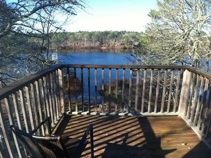 Harwich Cape Cod vacation rental - Deck view. Outdoor furniture provided.