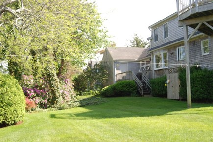 Brewster Cape Cod vacation rental - Private large back yard along  conservation land