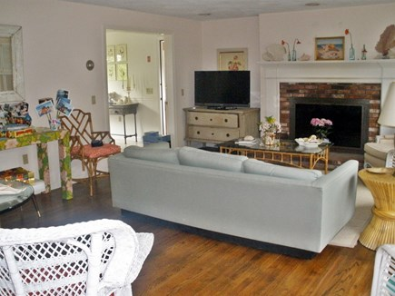 Brewster Cape Cod vacation rental - Sun filled spacious Living room
