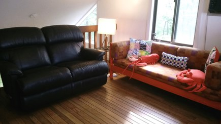 Mashpee Cape Cod vacation rental - Great LOFT area with couches /Day Bed/ TV