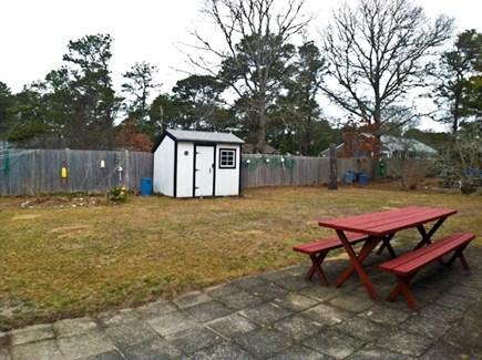 Dennis Cape Cod vacation rental - Patio / back yard
