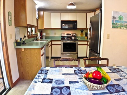 Brewster Cape Cod vacation rental - Fully-equipped kitchen with new appliances.