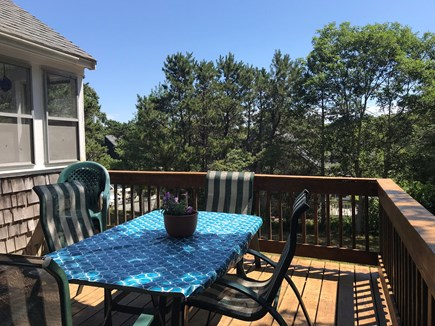 Chatham Cape Cod vacation rental - Large Shaded Deck with umbrella
