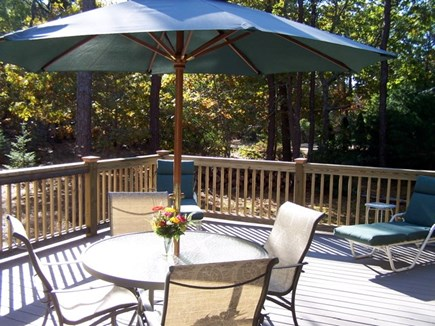 Eastham Cape Cod vacation rental - Deck (2)