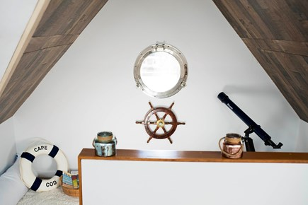 Sandwich Cape Cod vacation rental - Ahoy Mateys! Enter the ships cabin framed with wood planks!