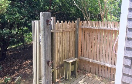 Orleans Cape Cod vacation rental - Outdoor shower