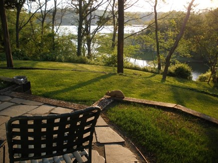 Orleans Cape Cod vacation rental - Water view from patio