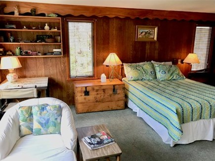 Orleans Cape Cod vacation rental - Primary Bedroom with Queen and sitting area