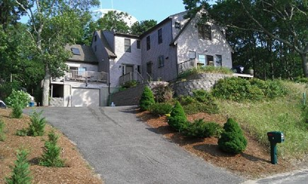 Provincetown Cape Cod vacation rental - Two Family home, rental is to the left side of home.