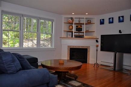 Provincetown Cape Cod vacation rental - Large open living room