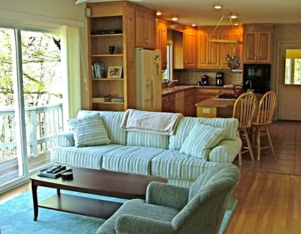 Orleans Cape Cod vacation rental - Lounge and kitchen