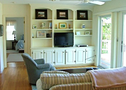 Orleans Cape Cod vacation rental - Lounge w/TV