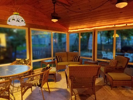 South Dennis Cape Cod vacation rental - Wonderful Porch. It will be the highlight of each evening.