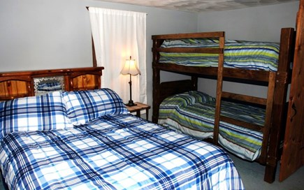 South Dennis Cape Cod vacation rental - Bunked singles and a full bed on the 2nd floor