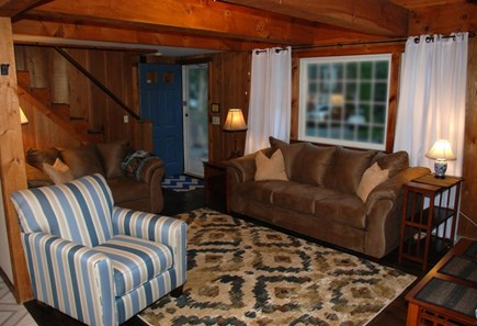 South Dennis Cape Cod vacation rental - Open floor plan living room