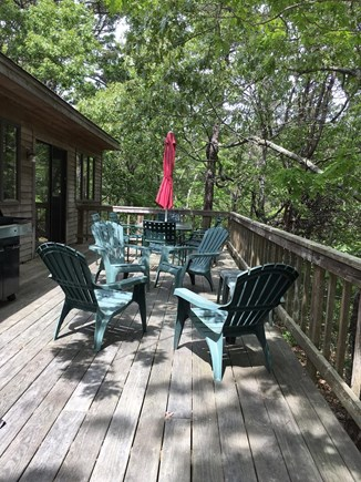 Wellfleet Cape Cod vacation rental - Deck