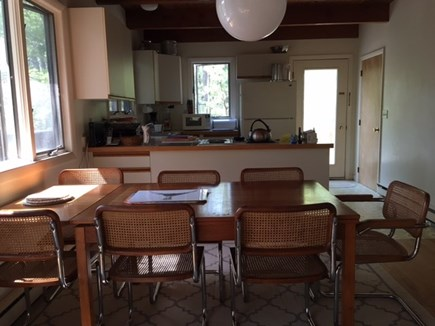 Wellfleet Cape Cod vacation rental - Dining Area & Kitchen