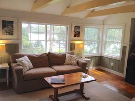 Orleans Cape Cod vacation rental - Living room water view