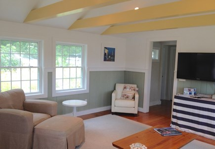Orleans Cape Cod vacation rental - Living room & TV