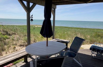 Orleans Cape Cod vacation rental - Covered deck area