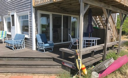 Orleans Cape Cod vacation rental - Wraparound deck