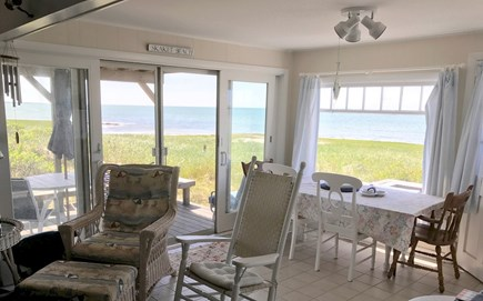 Orleans Cape Cod vacation rental - Water view from open living area