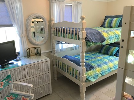 Orleans Cape Cod vacation rental - Bedroom #2 w/bunk-bed set (2 Twins)