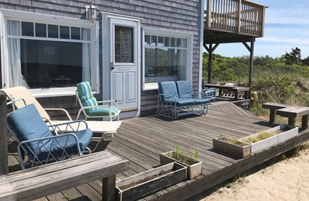 Orleans Cape Cod vacation rental - Deck for sunning