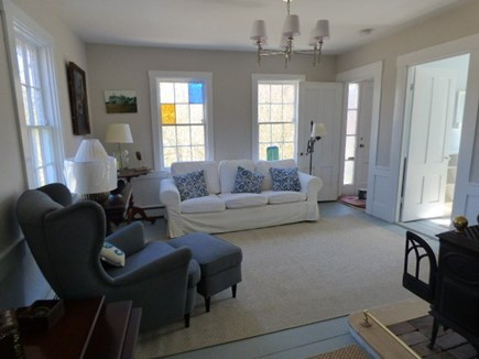 Brewster Cape Cod vacation rental - Living room with TV and internet