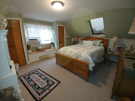 South Dennis Cape Cod vacation rental - Seafoam room 2nd floor Queen bed, room for a portacrib