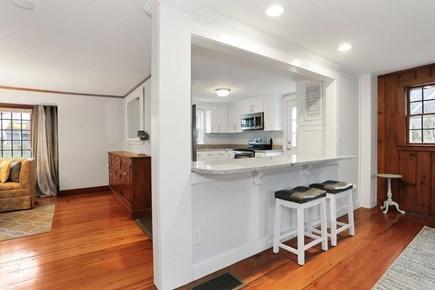 west harwich Cape Cod vacation rental - Looking into kitchen and dining room