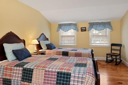 west harwich Cape Cod vacation rental - Second Floor Bedroom with two twin beds