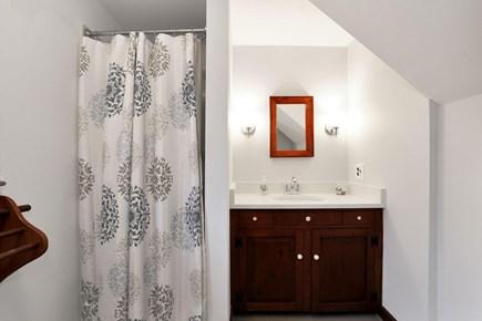 west harwich Cape Cod vacation rental - Master en suite bathroom on first floor