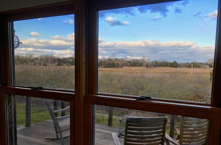 Orleans Cape Cod vacation rental - Marsh view from living room