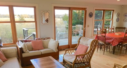 Orleans Cape Cod vacation rental - Open living/dining area
