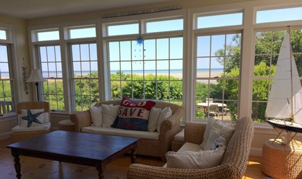 Brewster Cape Cod vacation rental - Lounge area of kitchen