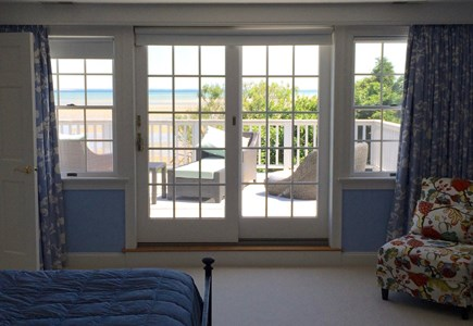 Brewster Cape Cod vacation rental - Master bedroom deck