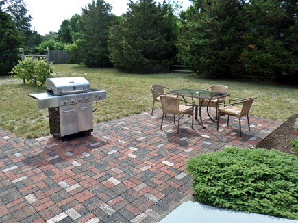 Orleans Cape Cod vacation rental - Large, Private  Back Yard with Patio and BBQ Grill