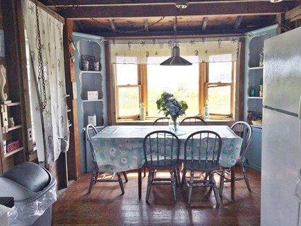 West Yarmouth Cape Cod vacation rental - Dining area with view of Lewis Bay