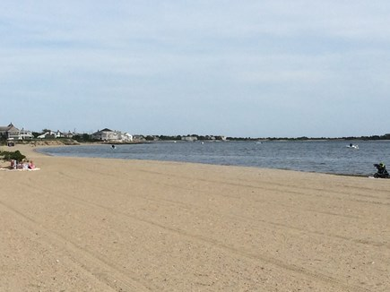 West Yarmouth Cape Cod vacation rental - Colonial Acres Beach faces south into Lewis Bay